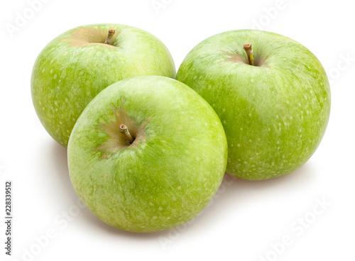 Leinwand Poster granny smith apples