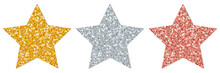 Stars Sparkling Gold/Silver/Co...