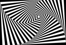Vector Of 3d  Twisted Black An...