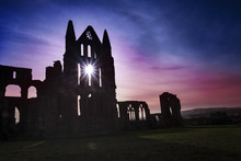 Dramatic Whitby Abbey, Associated With Dracula