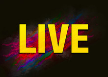 Live Colorful Paint Abstract B...
