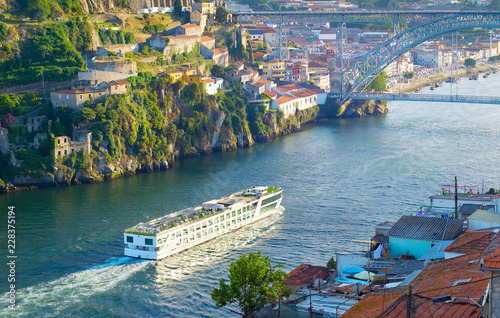 Cruise ship. Douro river. Portugal