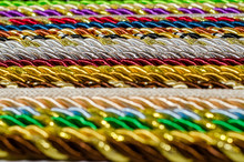 Multicolored Ropes Laid Nearby...