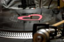 Dj Scratching Vinyl Record