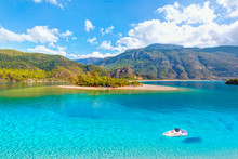 Oludeniz Beach And Blue Lagoon...