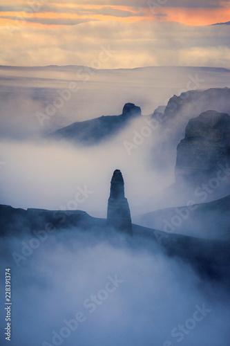 Fotografia, Obraz  Geologic oddities in the Utah Desert, USA.