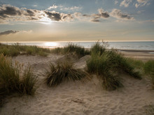 View Over Marram Grass Covered...