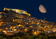 """Mardin old town with bright blue sky - Mardin, Turkey """"Elements of this image furnished by NASA"""