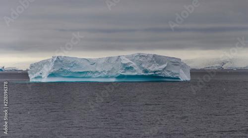 Poster Antarctica Iceberg in Antarctic sea