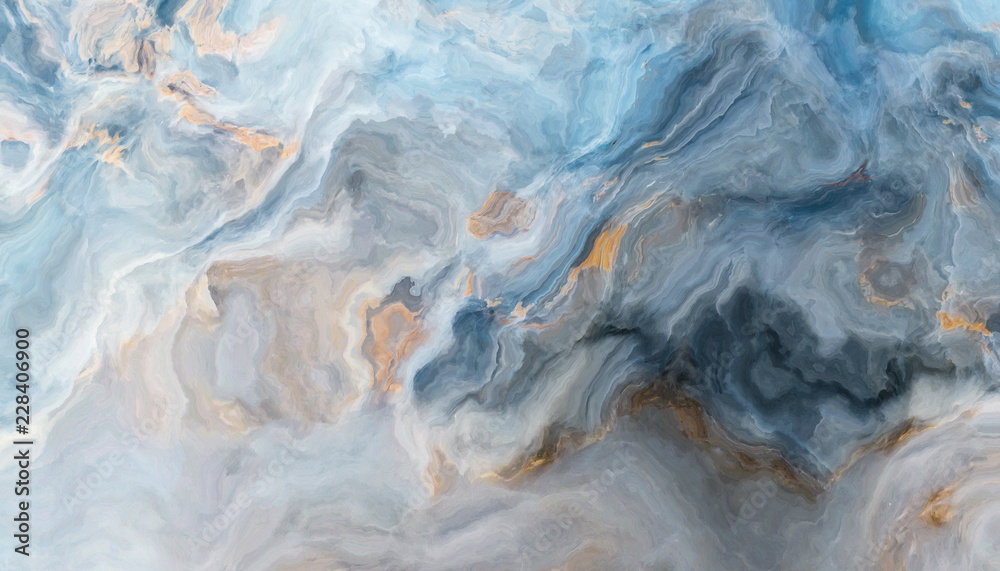 Fototapeta Blue marble background