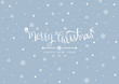 Merry Christmas and Happy New Year. Winter and snow background. Vector illustration