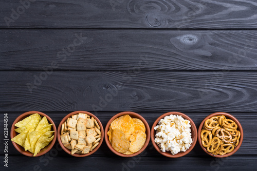 Mix of snacks Wallpaper Mural
