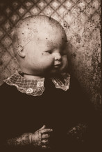Creepy Doll Portrait