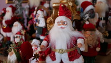 Bunch Of Santa's