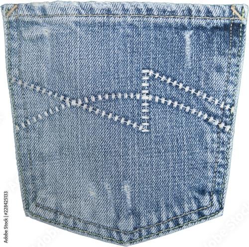 Fotografia  denim jeans pocket