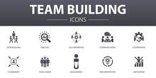 Team Building Simple Concept I...