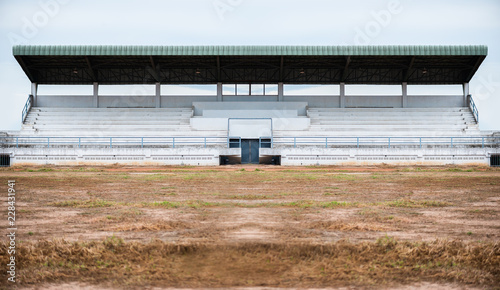 Poster Stadion Empty grandstand for sports cheer