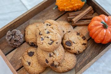 Fototapeta Chocolate Chip Cookies