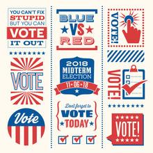 Patriotic Design Elements And ...