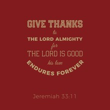 Biblical Phrase From Jeremiah,...