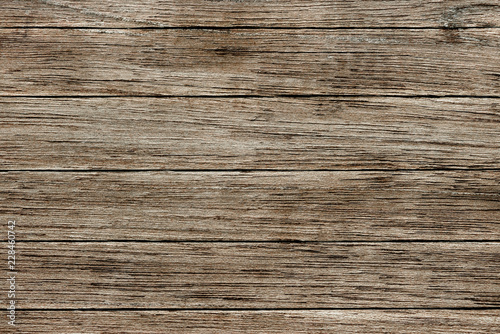 Türaufkleber Holz Faded brown wooden texture flooring background