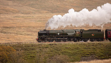 Steam Train Going Over Ribbleh...