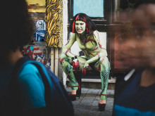 Zombie Girl In The Street For ...
