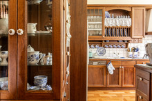Old Fashioned Wooden Cabinets ...