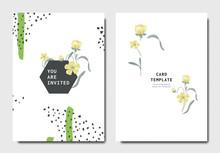 Botanical Invitation Card Temp...