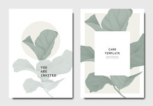 Botanical Invitation Card Temp...