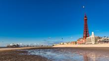Blackpool Under Blue Skies