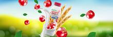Natural Organic Cherry Yogurt ...