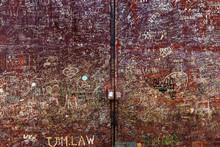 Writings On A Rusty Gate