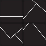Abstract geometric seamless pattern - 228495935