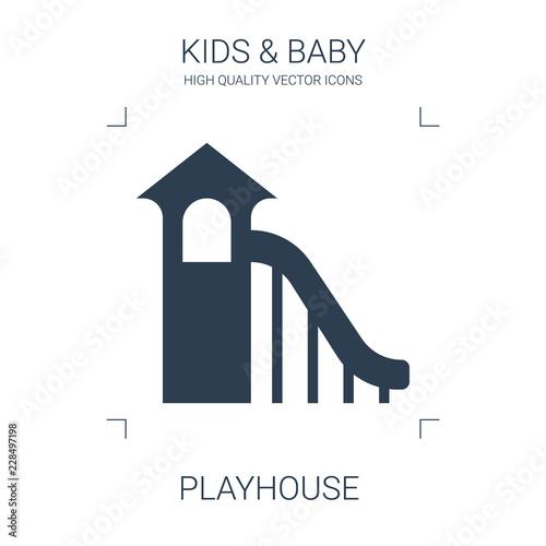 Obraz na plátne playhouse icon