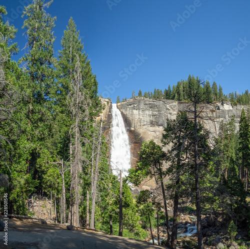 Photo  Yosemite valley national park, mountain nature, California, USA