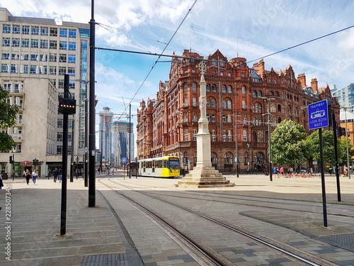 Portland Street Railway in Manchester, England