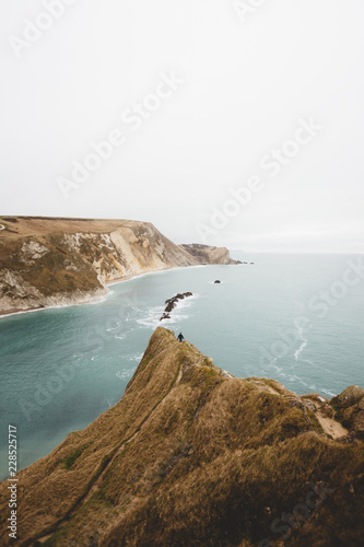 Amazing view of shore and sea