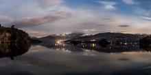 Panorama Of Lake Windermere At...