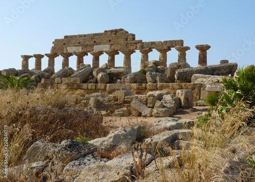 Foto op Aluminium Rudnes Ruines archéologiques de Sélinonte