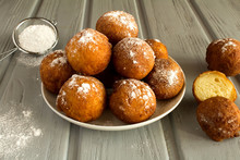 Homemade Cottage Cheese Donuts...