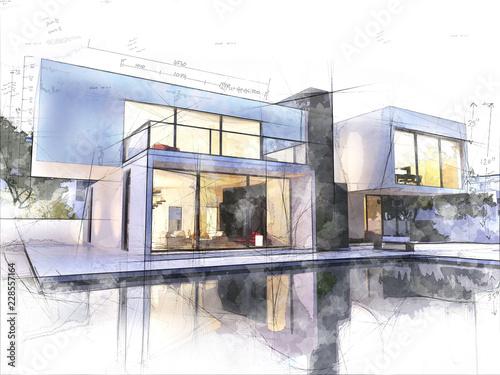 szkic-nowoczesnej-architektury