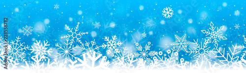 Carta da parati Snow border