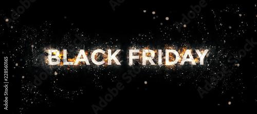 Fotografia  Black Friday Discount illustration in very high resolution