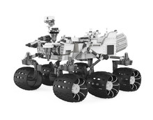 Curiosity Rover Isolated