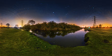Starry Night At River Biam, Le...