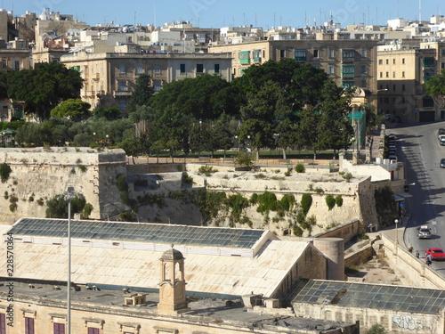 Fotobehang Midden Oosten Festungsstadt Valletta - Maltas Hauptstadt im Mittelmeer