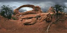 Double O O Arch In Arches Natu...
