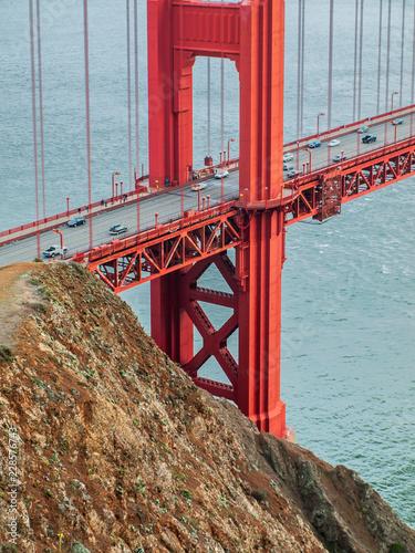 Fotografie, Obraz  Golden Gate Bridge - San Francisco, California