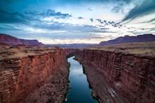 Colorado River At The Navajo B...